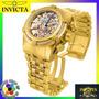 Relógio Invicta 12763 Bolt Zeus 13756 Gold Rosê Skelecton !