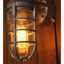 Lámpara Antigua / Diseño Industrial / Edison Anti Explosión
