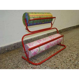 Porta Rollo Bobina Combinado 40/60 Envío Económico En Caba.