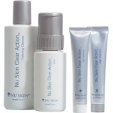 Nu Skin Clear Action Tratamiento Acne Kit Piel Limpia Y Sana
