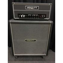 Amplificador Hiwatt Hi-gain 100 Valvulado + Caixa 4x12