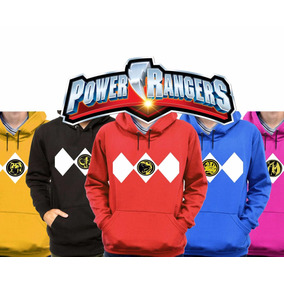 Kit 5 Moletons Power Rangers Filme 2017 Blusa De Frio