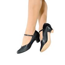 Sapato So Danca Danca De Salao C/fivela Napa Salto 5cm Preto