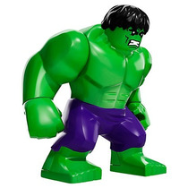Boneco Super Heroes Marvel Big Hulk Grande Compatíve Lego