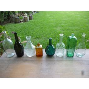 Botellas Antiguas De Vino, Licor, Ginebra, Decoracion Ultima