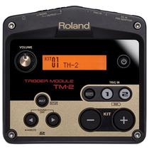 Módulo Roland Trigger Tm2 P/ Bateria Acústica E Eletrônica