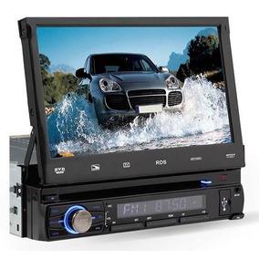 Dvd Retratil Automotivo Roadstar 7745 7 Usb / Sd