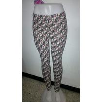 Pantalones Monos Leggins De Moda Bacci Tela Suavesita
