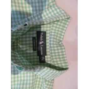 Camisa Polo Ralph L Manga Larga De Hombre Talla L
