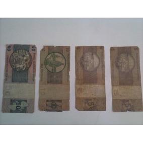 Nota Antiga Para Colecionadores (de 5, 10 E 50 Cruzeiros)