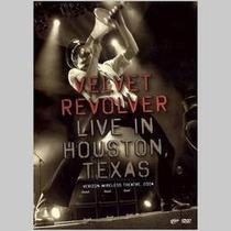 Velvet Revolver Live In Houtson Texas Dvd Nuevo