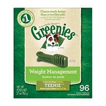 Greenies Control De Peso Perro Trata Dentales