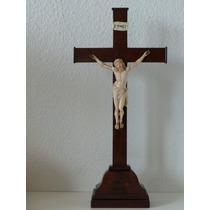 Cristo Alemán Finales Siglo 18 Principios 19 Cruz Madera