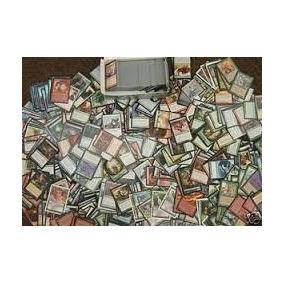 Lote De 500 Cartas Magic 25 Raras/100 Incomuns/ 375 Comuns
