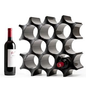 Porta Vinos Cava De Célula Se Puede Ampliar Negro