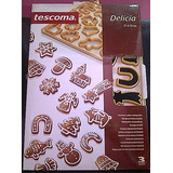 Molde Torta Pasta Navideño Delicia Tescoma Cti 5946 Xavi