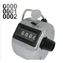 Lote 10 Contador Manual De 4 Dígitos,inventarios,personas