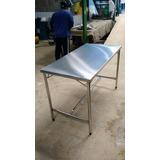 Mesa Em Aço Inox Direto Da Fábrica