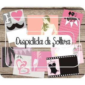 Invitacion Despedida De Soltera Kit Imprimible Juegos