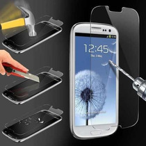 Mica Cristal Templado Samsung Galaxy S4, S5 0.2mm 9h, Bf6