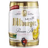 Cerveza Premium Alemana En Barril De 5lts. Bitburger