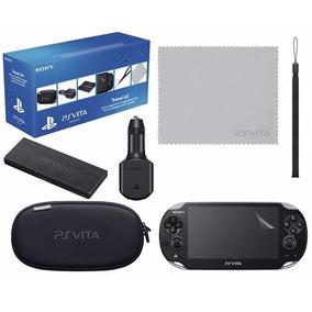 Ps Vita Psvita Case Kit Travel 6 Peças Original Sony E-sedex