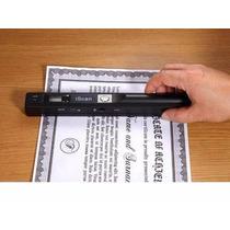 Scanner Portatil De Mão Para Dctos Livros Em Alta Resolução