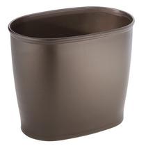 Interdesign Kent Bathware, Oval Papelera Papelera De Cuarto