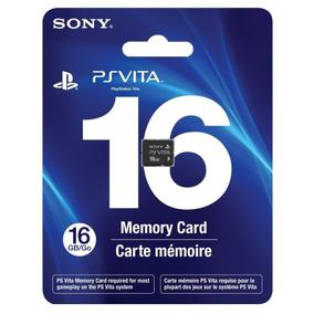 Cartão Memória 16 Gb Original Sony Vita Psvita Memorycard