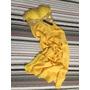 Vestido Longo Social Tomara Que Caia Amarelo Frete Grátis