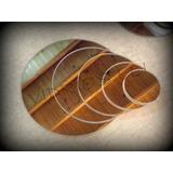 Espejos Para Centros De Mesa 3mm! 20cm Redondos/cuadrados