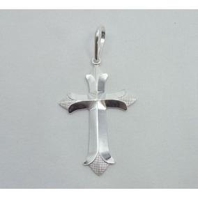 Pingente Masculino Crucifixo Em Prata 925