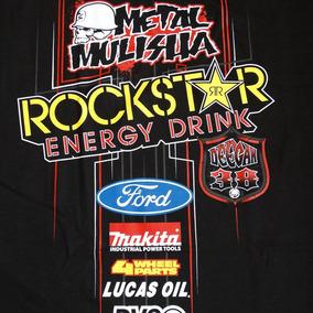 Metal Mulisha Pinstripe Deegan Ford Playera 2xl Nueva