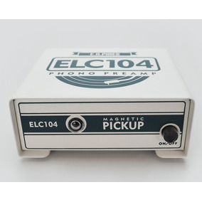 Preamp Elc 104 - Pré Amplificador Phono Para Toca Discos