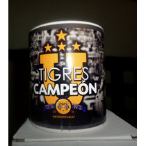Taza Magica Personalizada Tigres Y Rayados