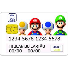 Mario & Luigi - Adesivo Cartão De Credito Super Mario Bros
