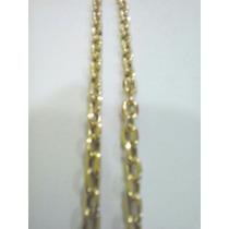 Cordão Modelo Cartier Oco Com 12 Gramas De Ouro 18k 750