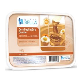 Depil Bella Cera Depilatória Camomila Com Calêndula 500g