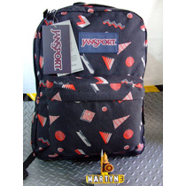 Mochiila Jansport Black Label Superbreack Red Fresh Prince