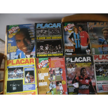 Coleção 40 Revistas Placar Maioria Antigas