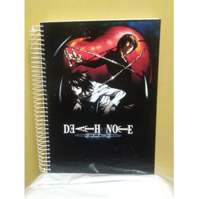 Caderno Do Death Note 10 Materias - 200 Folhas Mod 09