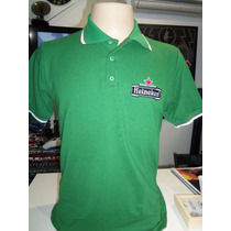 Camisa Polo Heineken Bordada