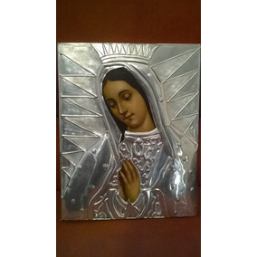 Cuadro Virgen De Guadalupe, Repujado