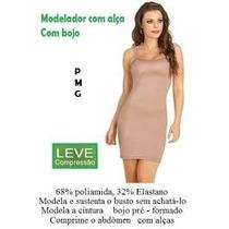 Anágua Vestido Segunda Pele Modelador Cinta M Body Combinaçã