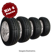 Kit 4 Pneu 185/60 R15 Goodyear Remold Gw Tyre 5 Anos Gtia