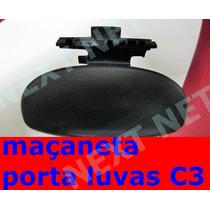 Alça Maçaneta Tampa Porta Luvas Original Com Mola Citroen C3