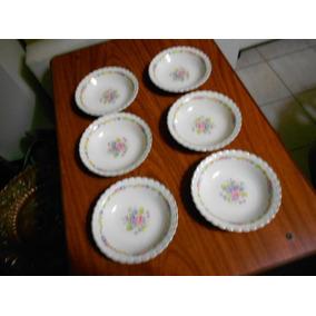 Compoteras Antiguas De Porcelana