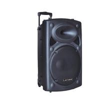 Caixa De Som Bluetooth Bateria Karaoke Microfone S/fio 1200w