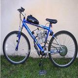 Negro 50cc 2 Tiempos Ciclo Motor Kit Motor Bicicleta Gasoli