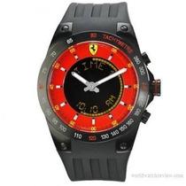 Reloj Ferrari Lap Time Multifunción Cronógrafo - Rojo